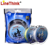 100M LineThink Samurai Standard Quality Nylon Monofilament Fishing Line Free Shipping