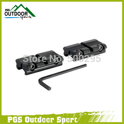 2pcs Scope Rail Adapter 3/8