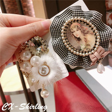 CX-Shirling Mix Styles Antique Lady Brooch Pearl Flower Quality Fur Winter Brooches Jewelry For Female Coat Gifts