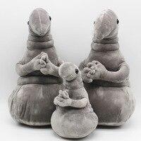 40cm Waiting Plush Toy Zhdun Meme Tubby Grey Blob Zhdun Plush Doll Toys For Children Homunculus
