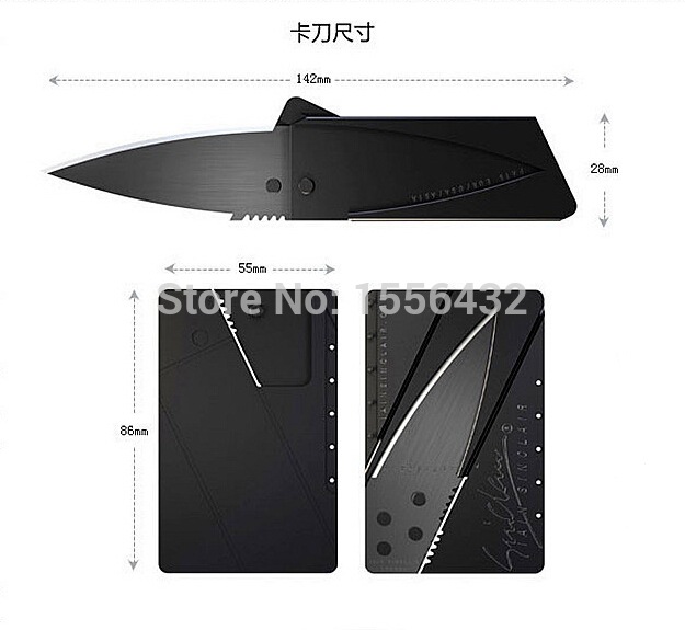 1pcs/lot Credit Card Knife Lain Sinclair Cardsharp...