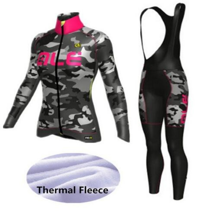 2016 Winter Thermal Fleece Long Sleeve ale Cycling Jersey Women Sportswear Mtb Bike clothes Bicycle / Cycling Clothing black thermal fleece cycling clothing winter fleece long adequate quality cycling jersey bicycle clothing cc5081