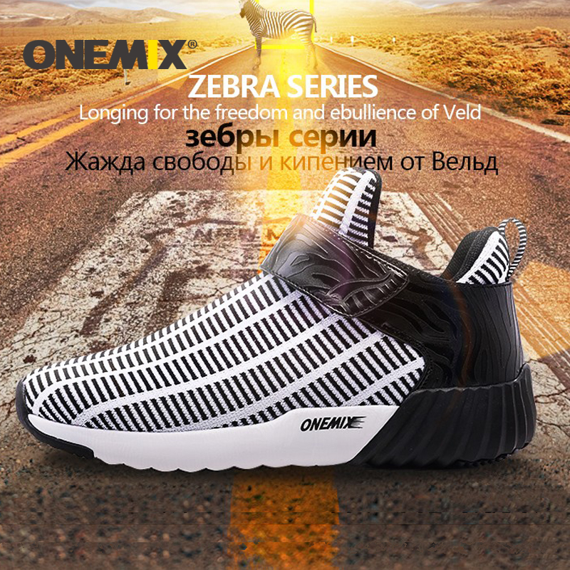 ONEMIX New Winter Running Shoes Warm Height Increasing Shoes Winter Men & Woman Sports Shoes Outdoor Unisex Athletic Sport Shoes
