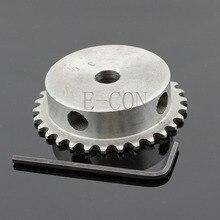 1 шт. 10 мм диаметр 30 зубьев 30 т металлический пилотный двигатель роликовая шестеренка цепная приводная звездочка