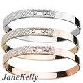 Fashion Luxury  Mother bangle White Move Stone Wedding bracelet&bangle  New Energy bracelet  For Woman