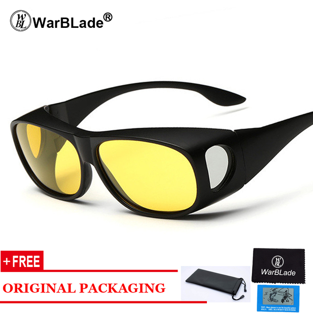 High-end Polarized Set of Glasses HD Vision Sunglasses Men Myopia Mirror Night Driving Sunglass Over Wrap Arounds Eyewear