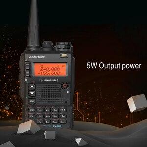 Image 3 - Zastone UV 8DR מיני רדיו VHF 136 174MHz UHF 400 520MHz CB רדיו חם 128 ערוץ שתי דרך רדיו Comunicador telsiz