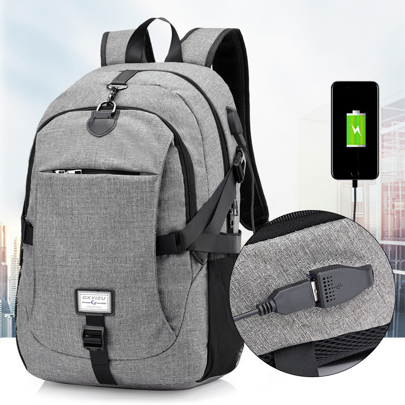 2018 New Men Male Oxford Multifunction USB charging Backpack College Student School Backpack Bags for Teenagers Laptop Backpacks new gravity falls backpack casual backpacks teenagers school bag men women s student school bags travel shoulder bag laptop bags