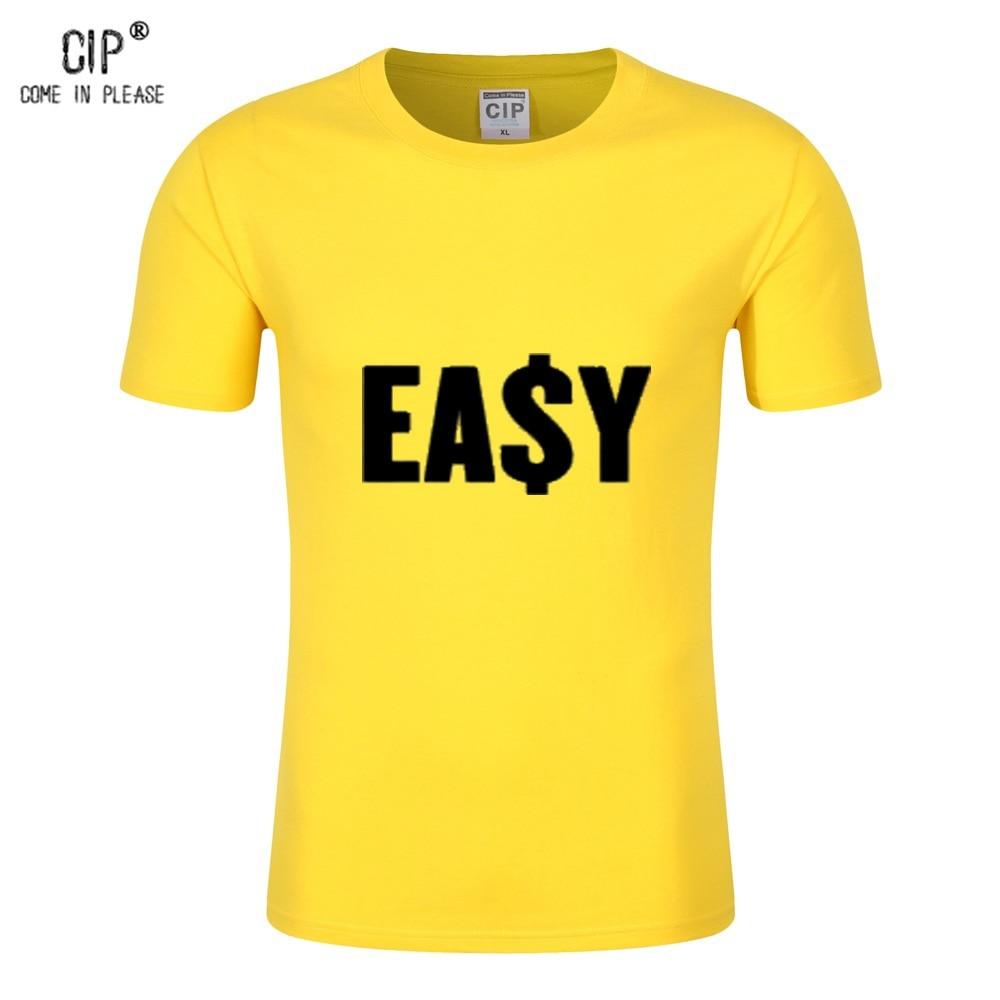 Cip New Arrival 2016 Men Designer T Shirt Casual Slim Fit Shirts