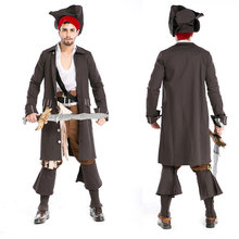 Halloween Menswear Characters Play Pirates of the Caribbean Costumes