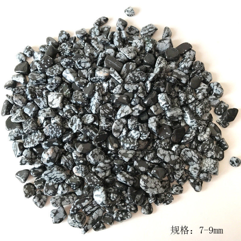 Wholesale 50g 2 Size Natural Alabaster Obsidian Stones Crystals and Minerals Aquarium Quartz Crystals Natural Stones
