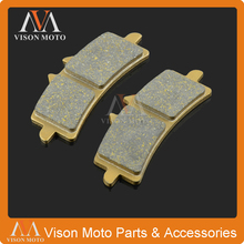 Cheapest prices Motorcycle Front Caliper Brake Pads For APRILIA RSV4R APRC ABS 10-14 RSV4 FACTORY APRC ABS 09 10 11 12 13 14