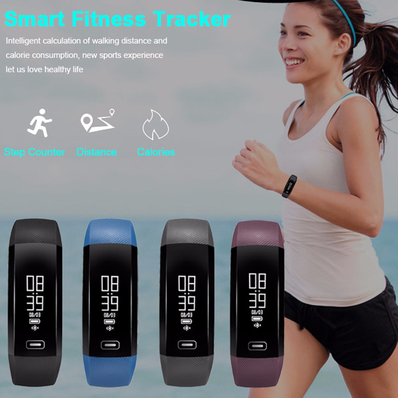 In Stock M2 blood pressure wrist watch pulse meter monitor cardiaco Smart Band Fitness Smartband PK