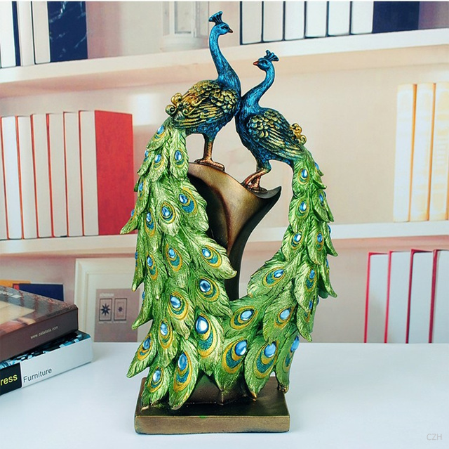 Online Buy Wholesale Peacock Sculpture From China Peacock Sculpture Wholesalers
