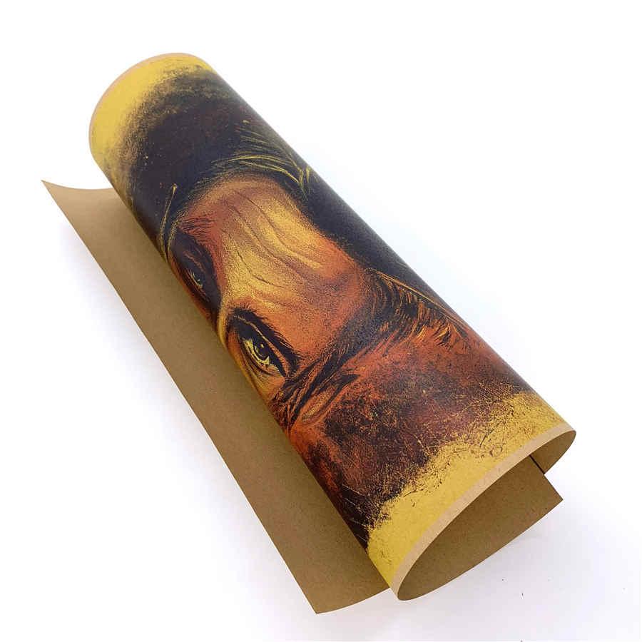 """סוס תרשים ארה""""ב להילחם מועדון רטרו קלאסי נייר בציר סרט פוסטר קראפט נייר עתיק בר פאב בית קפה בית תפאורה 42x30 ס""""מ MOV141"""