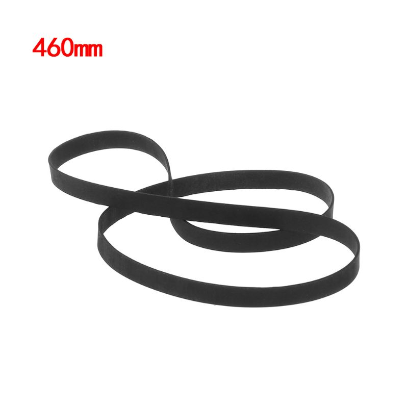 Black Phonograph Record Player Turntable Belt Accessories Retro Rubber 1pc