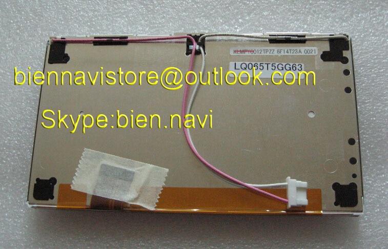 Gloednieuw LCD-scherm LQ065T5GG63 voor Car Audio Navigation - Auto-elektronica