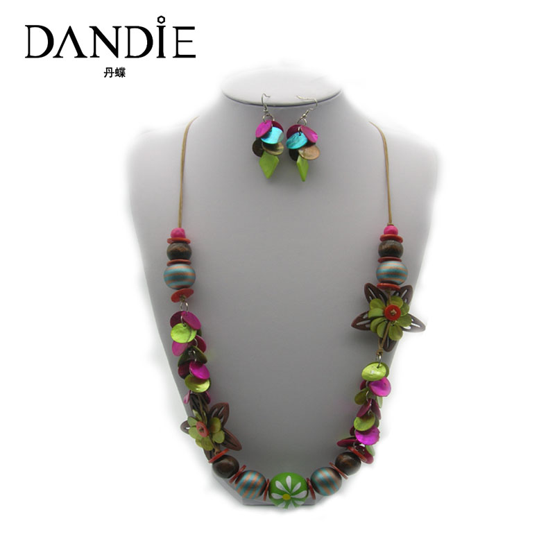 Dandie Flower Necklace With...