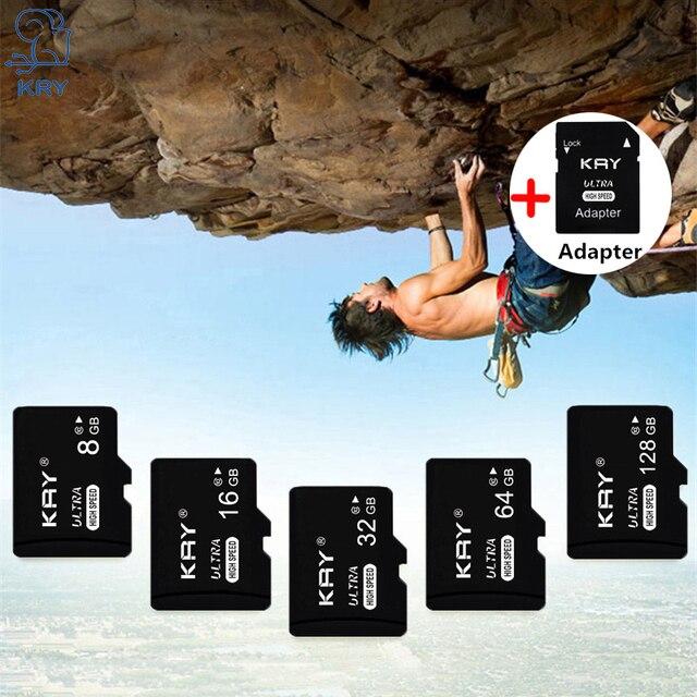 Carte mémoire 32 GB 16 GB 8 GB 128 GB 64 GB Carte USB classe 10 TF Carte SD 8 16 32 64 128 GB Cartao De Memoria Carte adaptateur Lezer