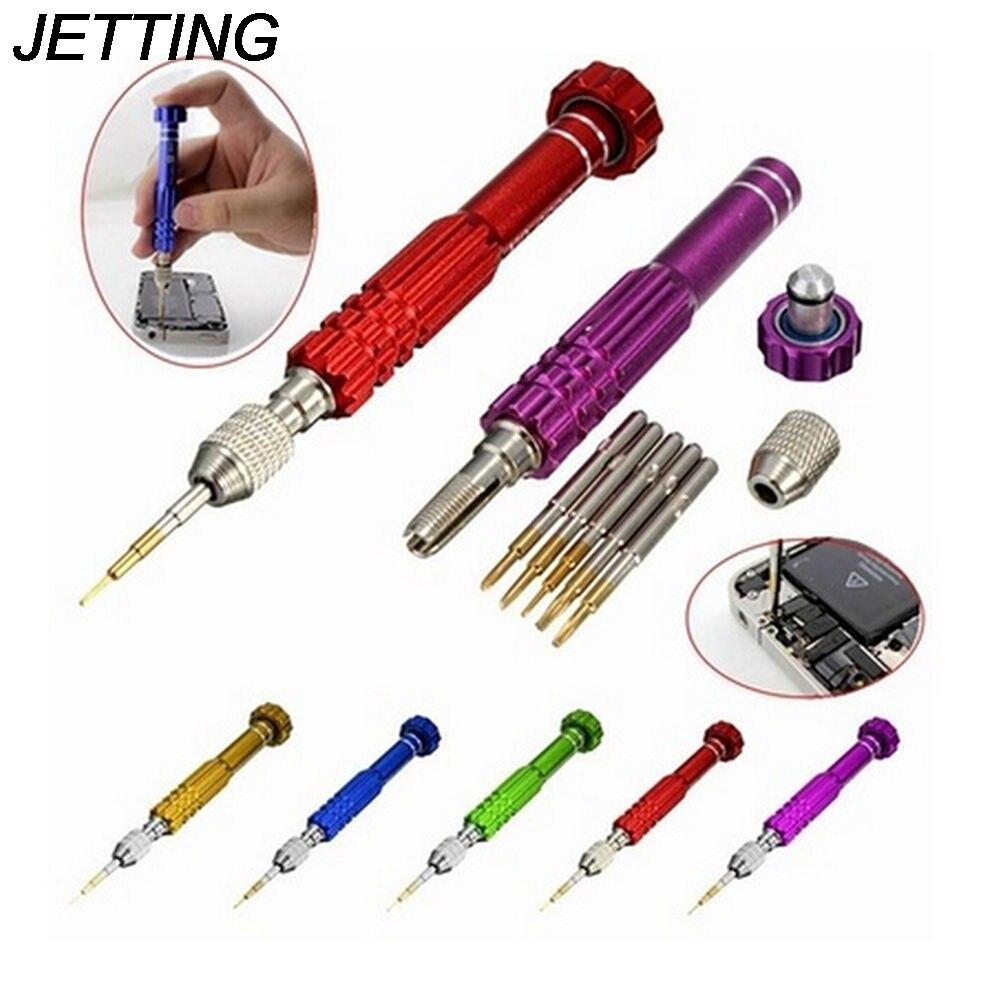 Набор прецизионных отверток 5 в 1 jeting, набор для ремонта мобильных телефонов и часов, набор инструментов для телефона|screwdriver 5 in 1|5 in 1 screwdrivertorx 5 screwdriver | АлиЭкспресс