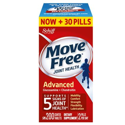 Move Free Advanced Glucosamine and Chondroitin 200 CtMove Free Advanced Glucosamine and Chondroitin 200 Ct