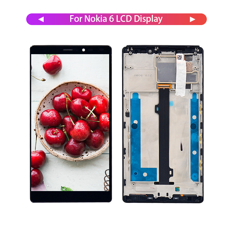 100% Tested 6 '' LCD Screen and Digitizer Full Assembly for Lenovo Vibe Z2 Pro K920 Display with Frame Replacement Repair Parts