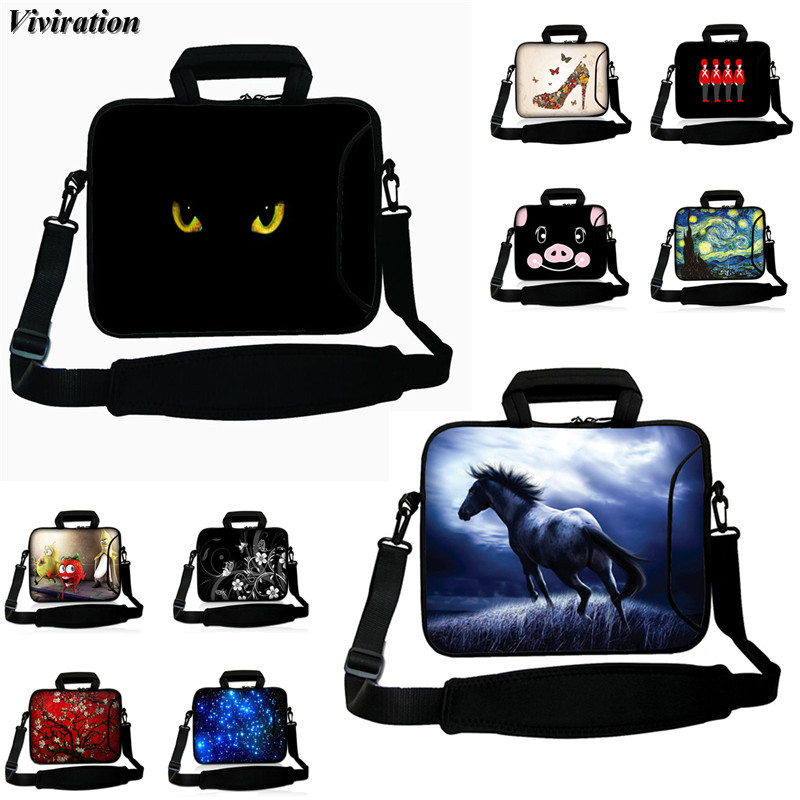 For Lenovo Ipad Macbook Air Pro Asus Handbag Messenger Laptop Ultrabook Bag 15 17 14 13 12 10 15.6 13.3 10.5 17.3 Notebook Case