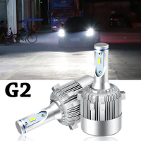 Car LED Headlights Bulbs Canbus G2 for Golf 6 7 Super Bright Waterproof 6000K White Auto Front Headlamp Driving Lights