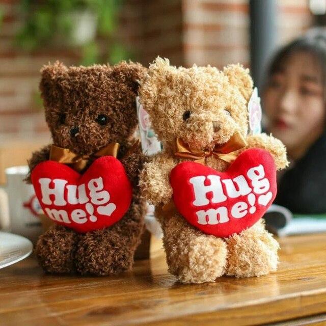 Lucu Mewah Beruang HUG ME Jantung Teddy Beruang Mewah Mainan Beruang Mewah  Anak-anak Mainan 4b72264e97