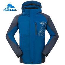 New Mens 2in1 Outdoor Sport Climbing Chaqueta Hombre Windstopper Waterproof Trekking Ski Winter Jacket Men Hiking Camping Coat