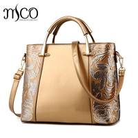 Melodycollection Women Top Handle Bags Crossbody Shoulder Bags Designer Handbags Cystal Flower Patent Leather Evening Tote