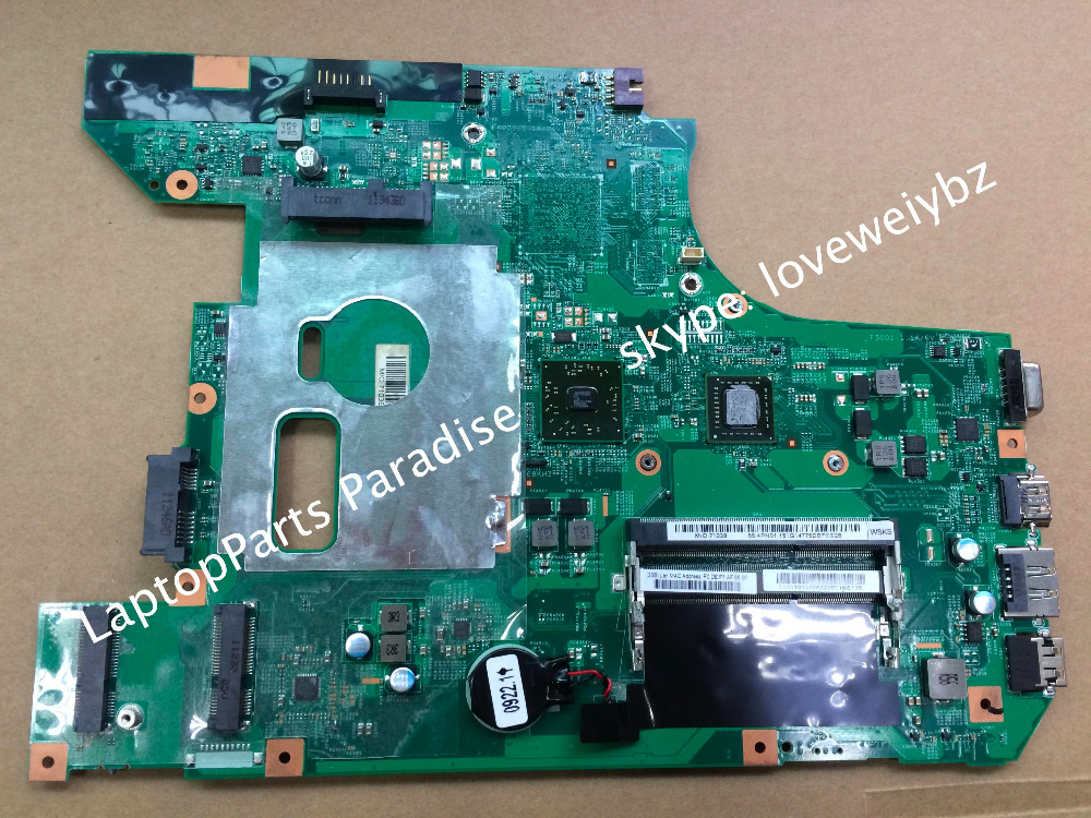 Original & Brand NEW !!! For Lenovo B575 Laptop Motherboard 48.4PN01.011 mainboard