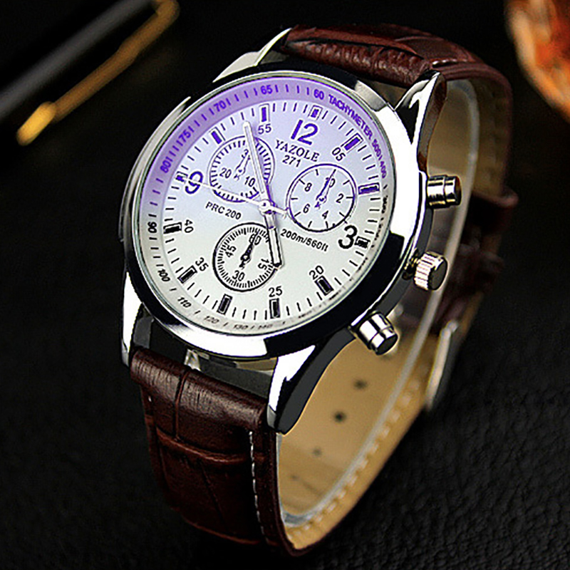2016 Men Watches YAZOLE Brand Luxury Famous Wristwatch Male Business Clock Wrist Watch Fashion Quartz-watch Reloges Hombre xinge top brand luxury leather strap military watches male sport clock business 2017 quartz men fashion wrist watches xg1080
