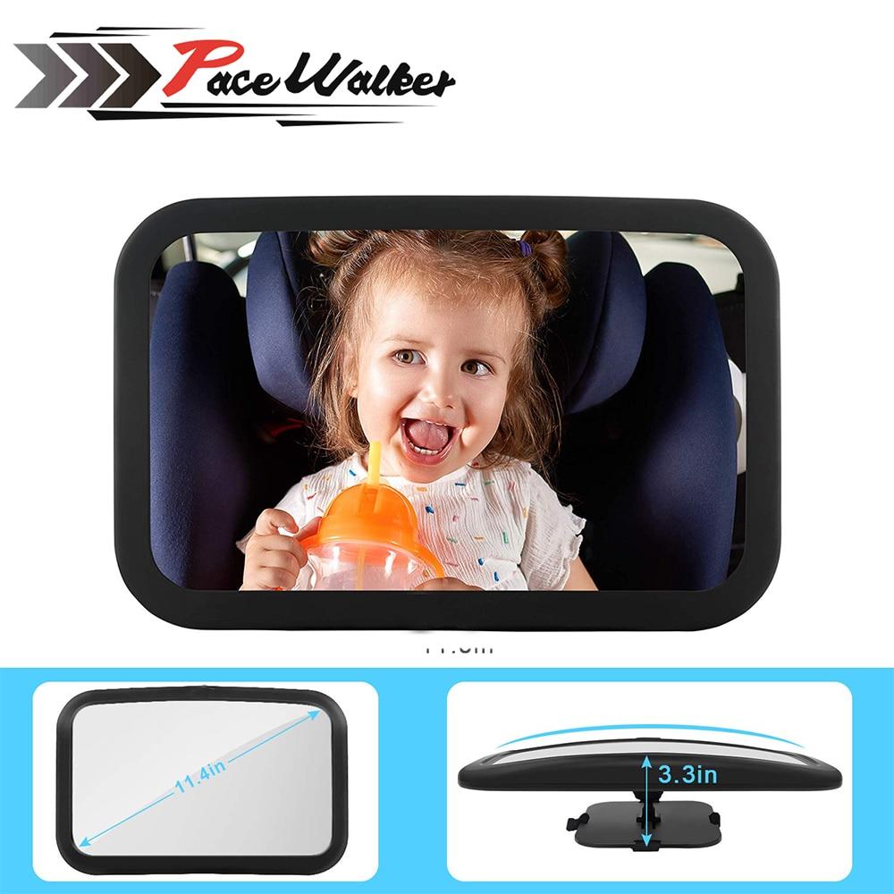 Beliebte Marke Verstellbare Kopfstütze Montieren Kind Infant Pflege Sicherheit Baby Kinder Monitor Auto Sicherheit Breite Zurück Sitz Rückspiegel Auto Zubehör
