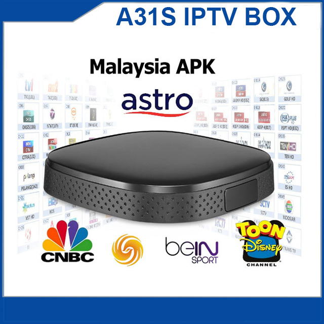 Original A31S ASTRO Malaysia IPTV Box With 1month free trial