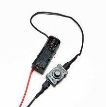 1 pcs 12 V 23A Batterij Houder 12 V batterij doos met schakelaar voor LED light strip deurbel power box
