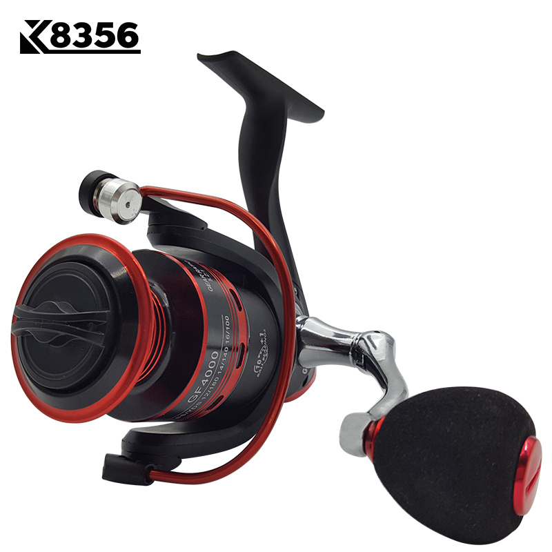 K8356 11BB 5.2:1 Fishing Spinning Reel GF1000~GF6000 Carp Fishing Reel Metal Line Cup Left/Right Handle Saltwater Fishing Reel rg new 13 1 bearing left right fishing reel with digital display fishing line counter saltwater carp reel 6 3 1 casting scroll