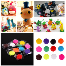 12 PCS Set Oven Polymer Clay for Baking Modelling Moulding Block Playdough Play Dough Mixed Color