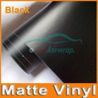 10M A Lot Free Shipping High Quality Black Matte Vinyl Car Wrap Vinyl Car Sticker Film
