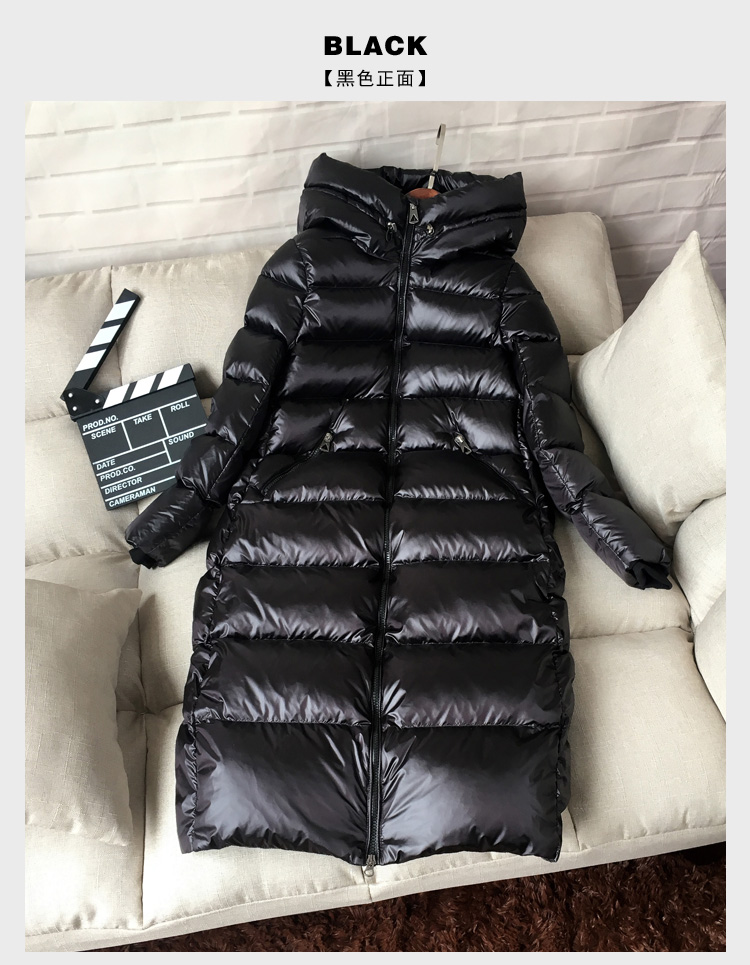 Coat Thick Long Black 3