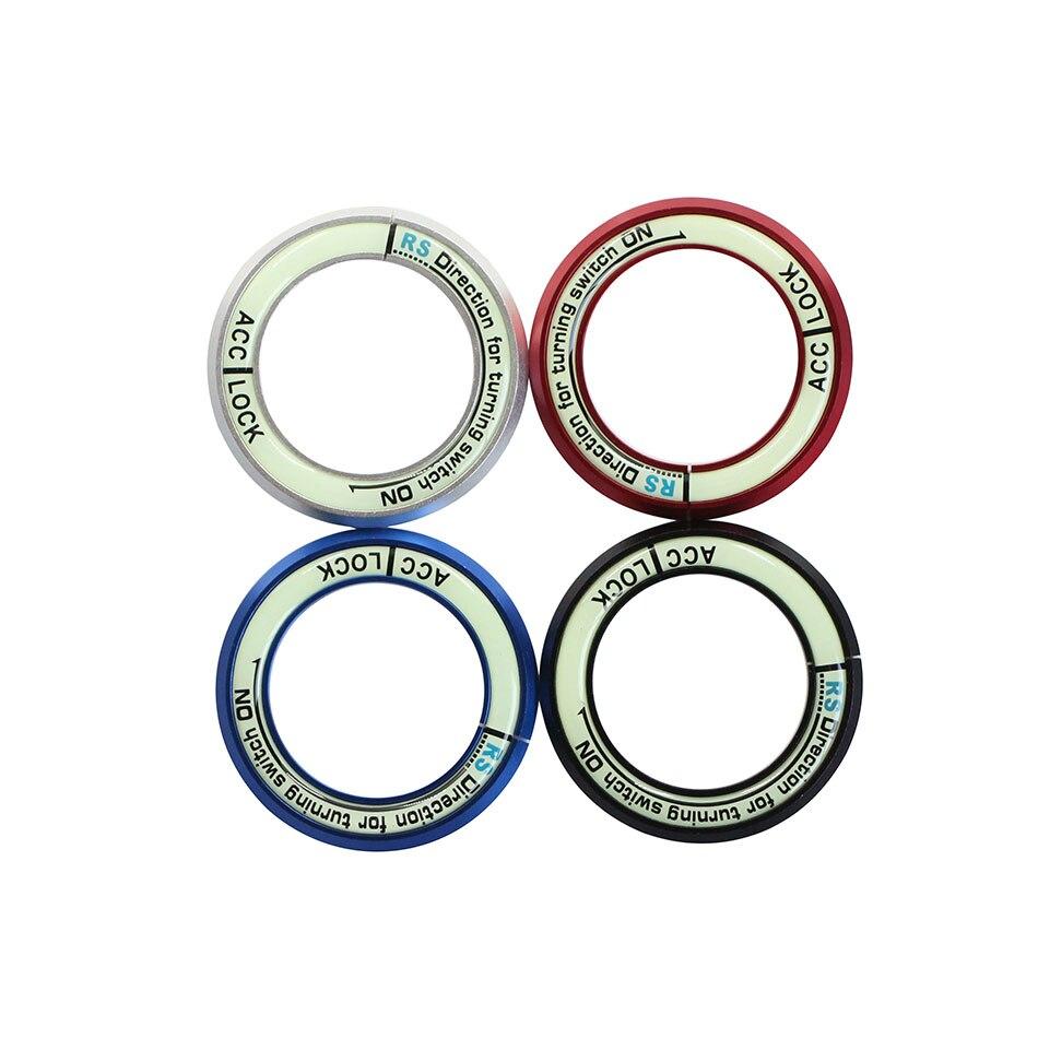 Jameo Auto Luminous Ignition Key Ring Switch Cover Sticker For Kia Forte Rio Solaris Sportage Soul K2 K3 K5 Sorento Ix35 In Interior Mouldings From