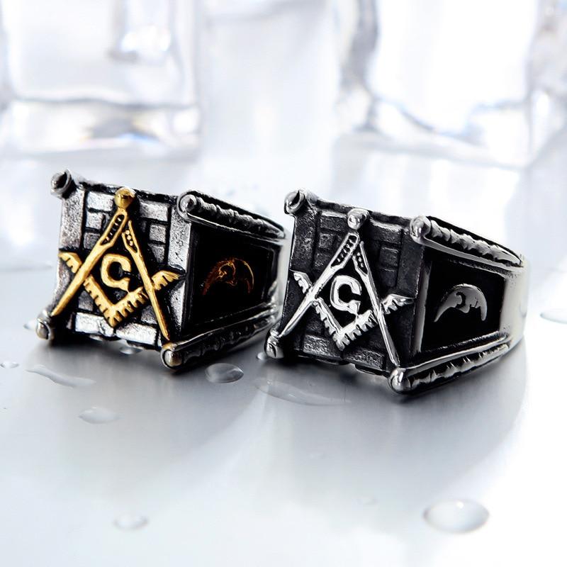 Vintage Masonic Rings (3)