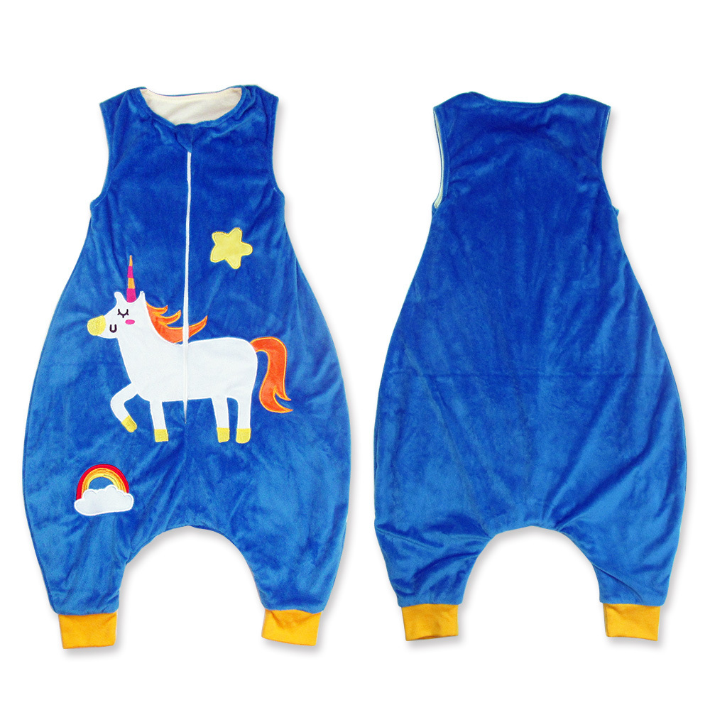 Uşaqlar Unicorn Pijama Qızlar Pijama Unicornio Pijamalar Cizgi - Uşaq geyimləri - Fotoqrafiya 5