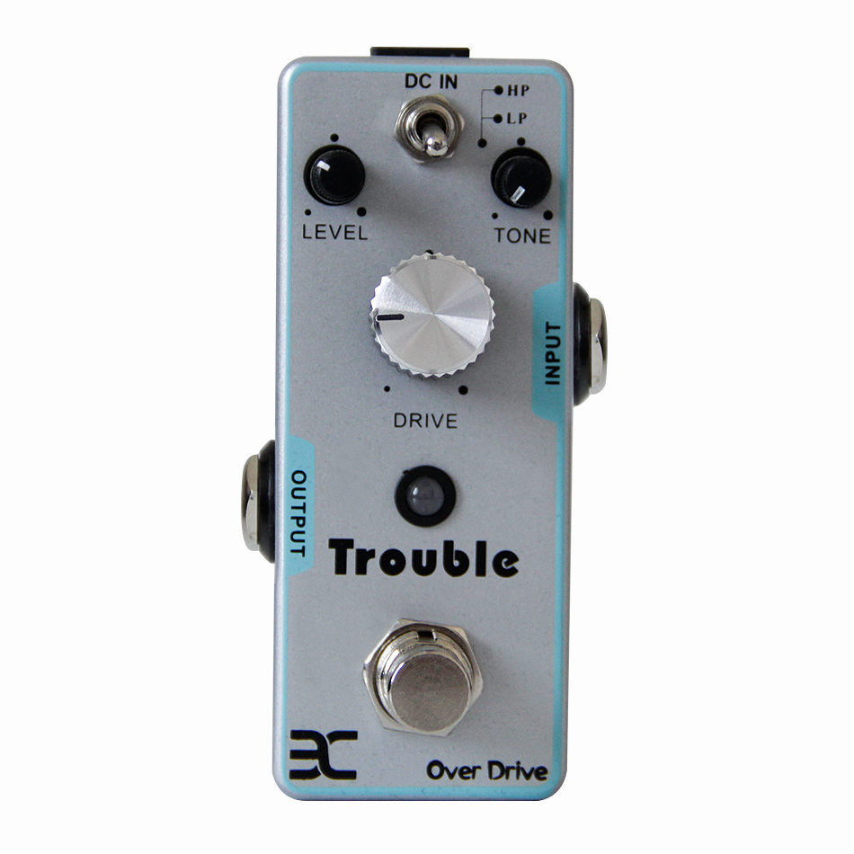 ENO TC-16 Trouble Over Drive Guitar Pedal Classic of OCD Guitar Effect Pedal with 2 Working Modes True Bypass Guitar AccessoriesENO TC-16 Trouble Over Drive Guitar Pedal Classic of OCD Guitar Effect Pedal with 2 Working Modes True Bypass Guitar Accessories