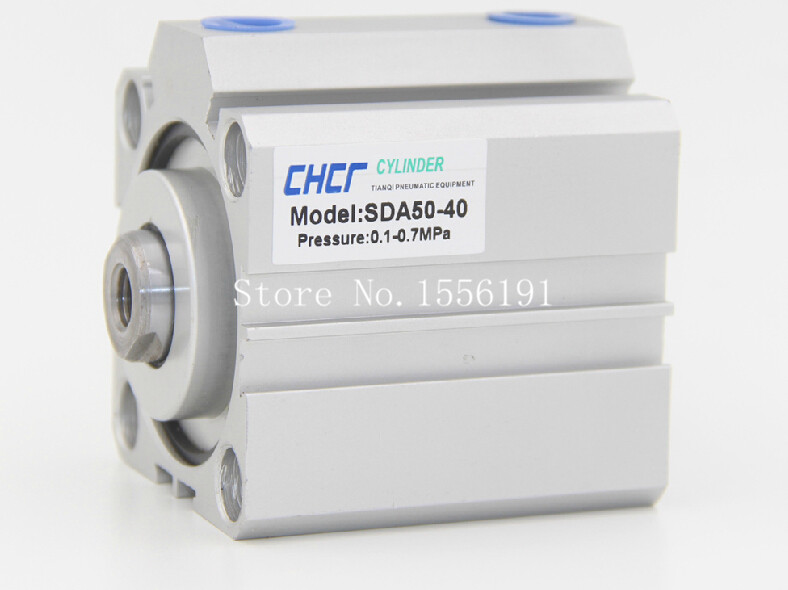 SDA50*100 Airtac Type Aluminum alloy thin cylinder,All new SDA Series 50mm Bore 100mm Stroke купить