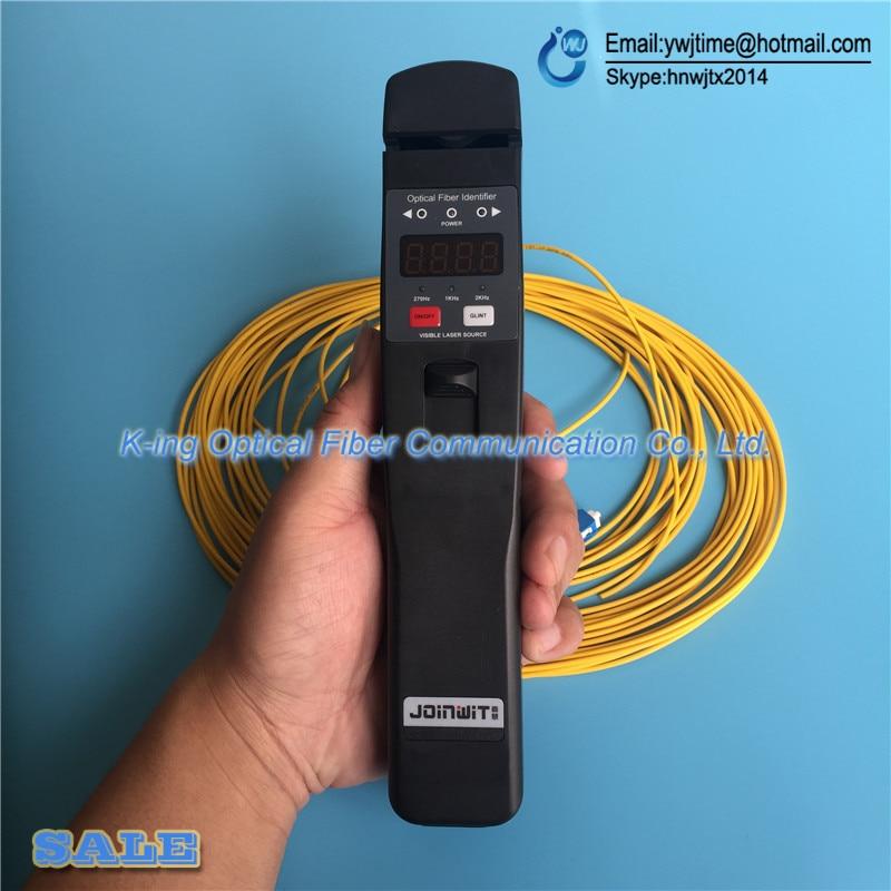Livraison gratuite identificateur de Fiber optique JW3306D identificateur de Fiber optique en direct avec localisateur de défaut visuel 10 mw intégré - 6