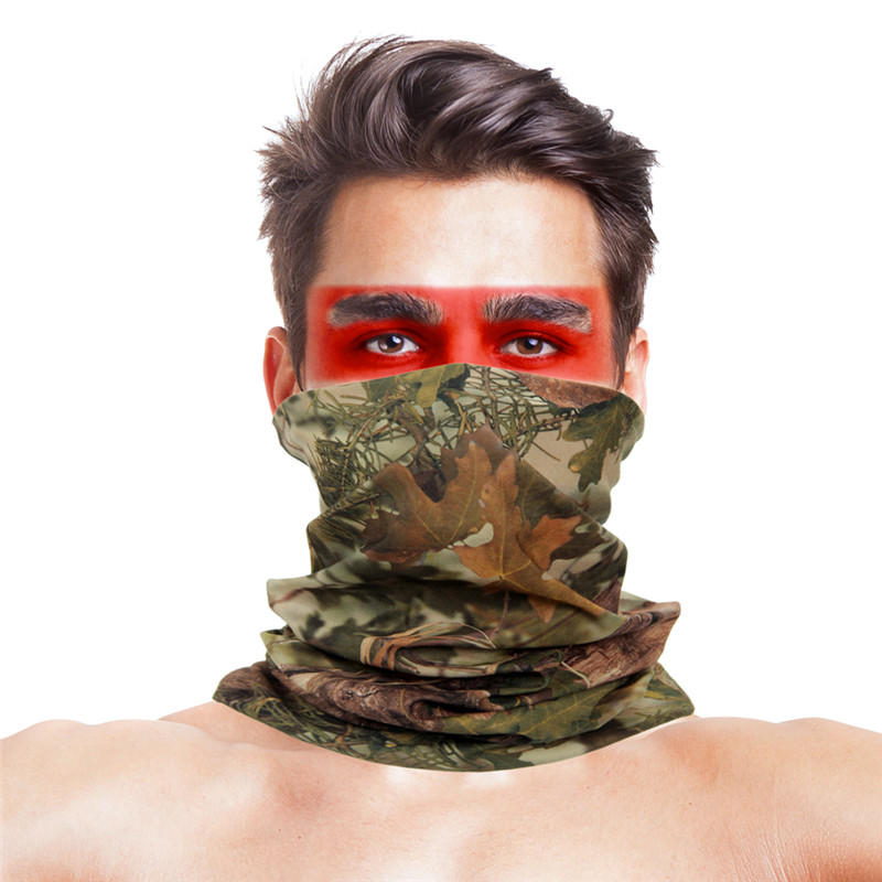 Military Camping Hiking Scarves Face Masks Bandana Bape Mask Tactical Outdoor Magic Headwear Camping Face Neck Warmer Headscarf