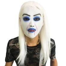 Long Hair Ghost Scary Masker Zombie Mask Halloween Props Mascaras Terror Horror Masks Realistic Masque