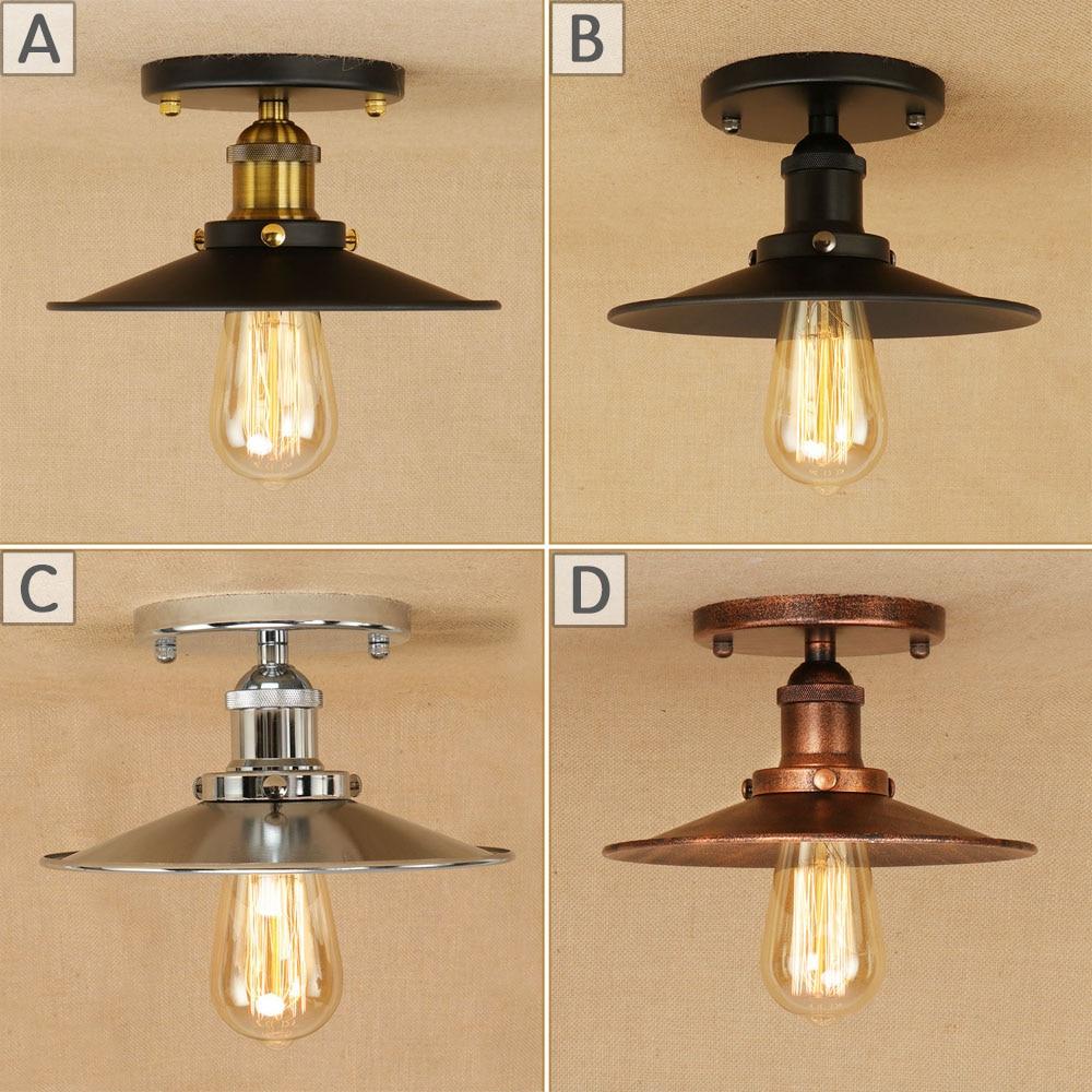 5 Style Loft Vintage Ceiling Lamp Led E27 Ac 110v 220v