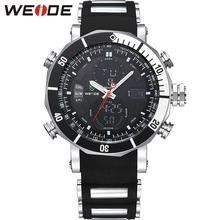 Luxury Brand WEIDE Quartz Wrist Watches Business Men Watch Quartz Analog-digital Japan Quartz Wrist Military Wrist Watch WH5203 weide luxury brand analog digital alarm stopwatch black red dual men sport watch quartz wrist watch military men clock relogio